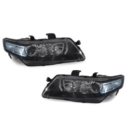 DEPO 2004 2005-2008 ACURA TSX EuroR CL7 JDM HEADLIGHT BLUE CLEAR LENS NEW PAIR
