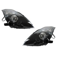 DEPO BLACK D2S HOUSING PROJECTOR HEADLIGHTS FOR 2003-2009 NISSAN 350Z JDM LOOK