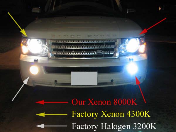 LEFT TOP FACTORY XENON 4300K