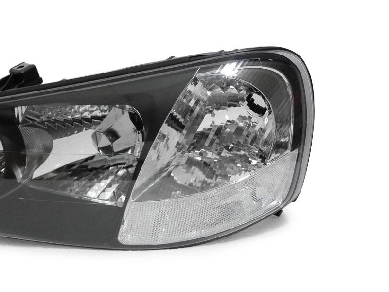 Depo Type S Jdm Black Xenon Hid Clear Corner Headlight Pair For 02 03 Acura Tl Ebay