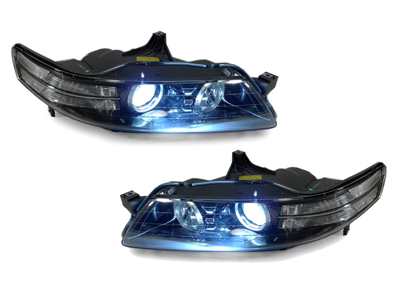 Details About Type S Clear Corner Bi Xenon Hid Projector Headlight D2s Bulb For 07 08 Acura Tl