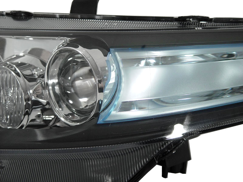 euro r cl7 jdm projector headlight d2s xenon hid bulbs for 2004 rh ebay com Acura TSX Headlight Replacement 2005 Acura TSX Headlight Assembly