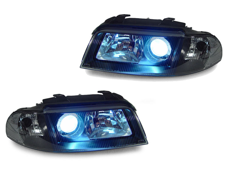 Details About Black Clear D2S Projector Headlight For 99 01 A4 00 02 S4 B55 OEM Xenon Model