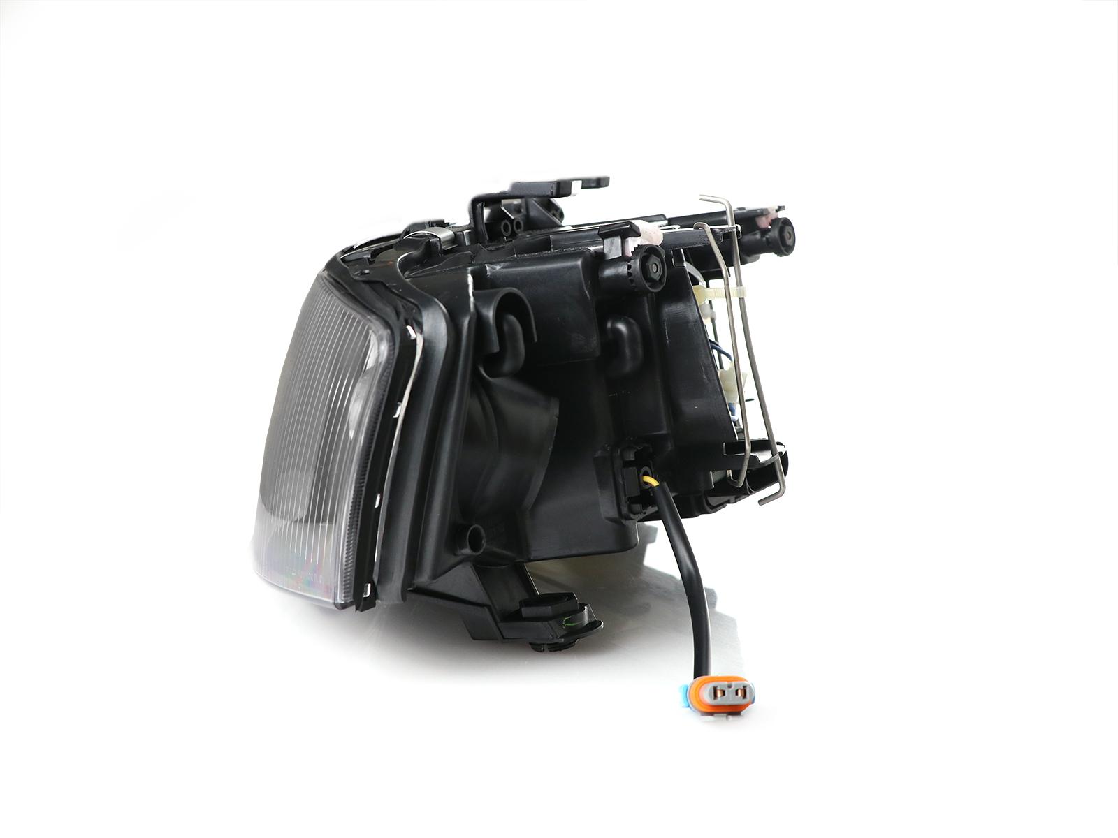 DEPO D2S Xenon HID Blk White LED Halo Projector Headlight