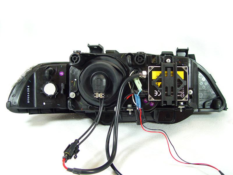 x2 xenon ballast holder for 97 00 bmw e39 5 series depo stock oe rh ebay com 89 90 Ford Bronco 1 Piece LED Headlights Angel Eyes Headlights