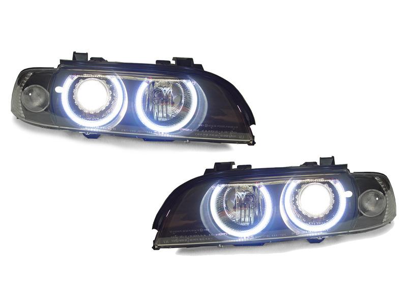 uhp led angel halo d2s headlight auto level for 97 00 bmw e39 stock rh ebay com 1995 Honda Accord Depo Headlights Depo Headlights for BMW