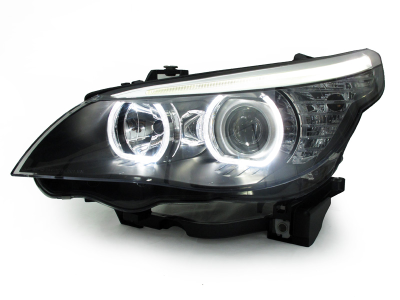 Depo V3 Led U Ring White Angel Halo Headlight For 2004 10