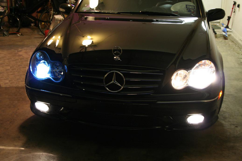 Mercedes E Low Beam Xenon Bulbs