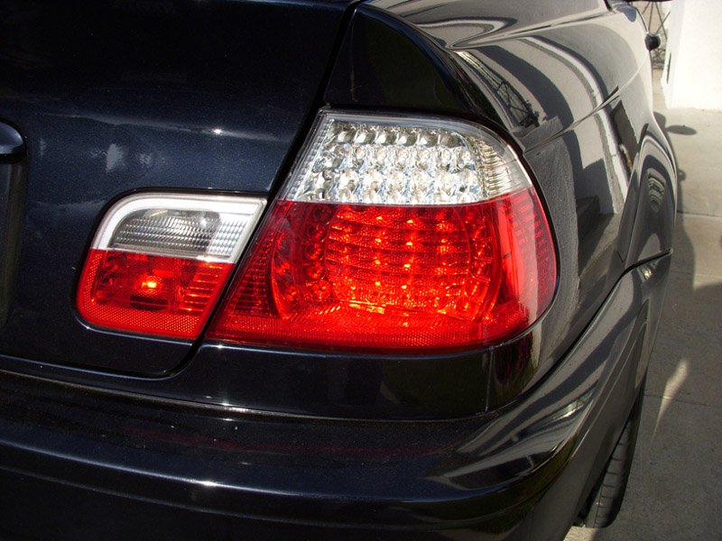 Depo Oem Replacement Red Smoke Led Tail Light Lamp For