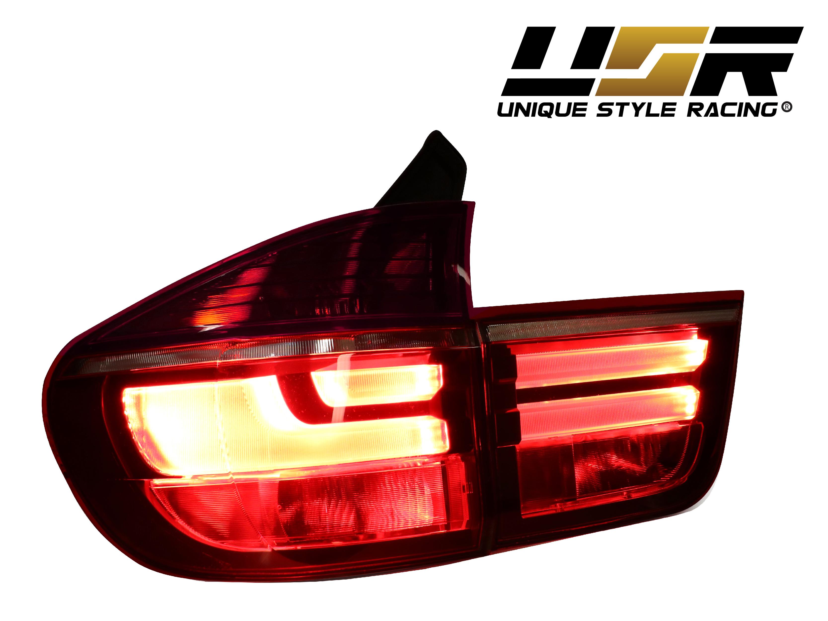 Plug Amp Play Lci Oe Facelift Style Light Bar Led Tail Light 4pcs For 07 13 Bmw E70 Ebay