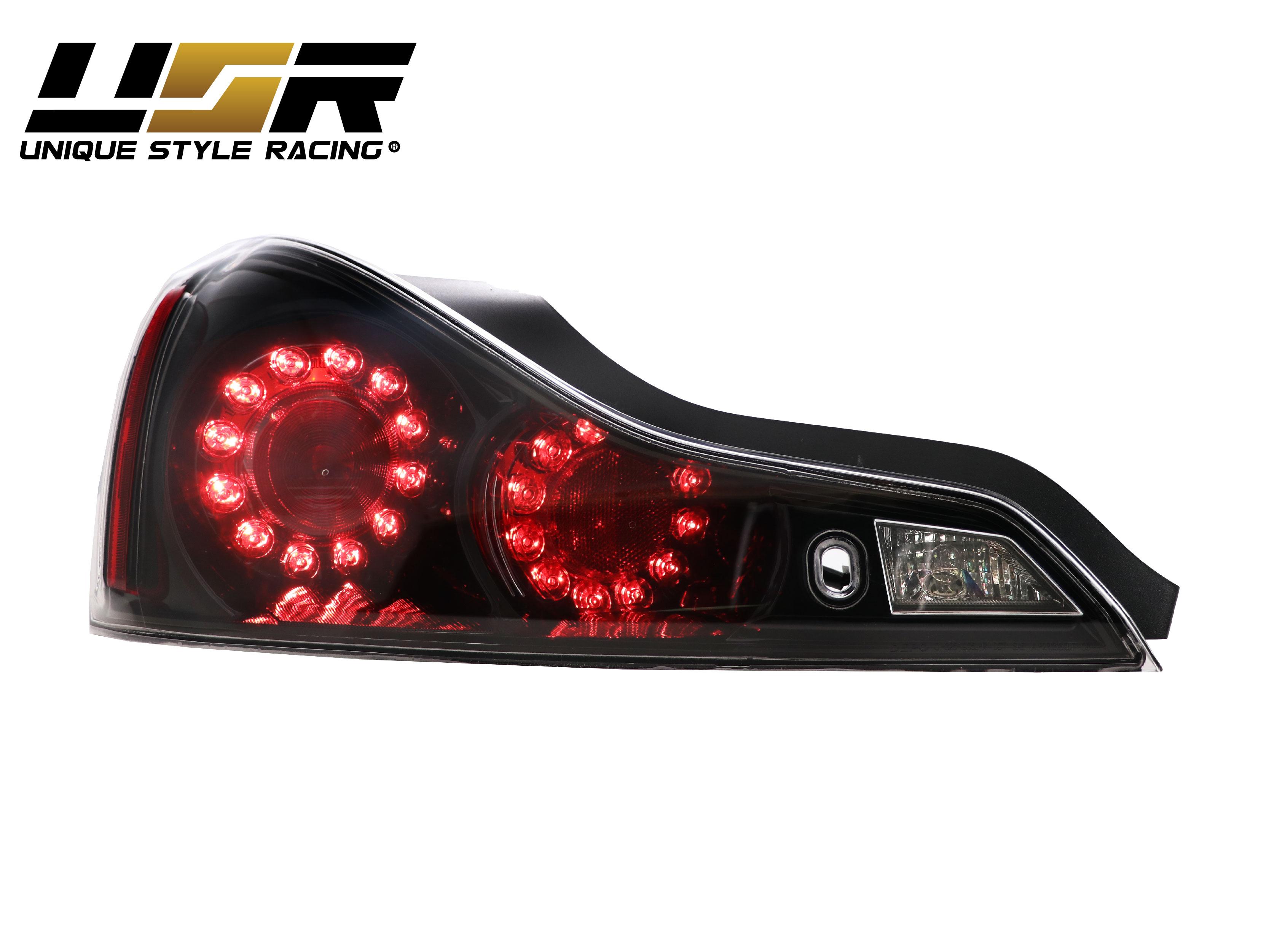 Depo Jdm Black Led Rear Tail Light For 2008 13 Infiniti