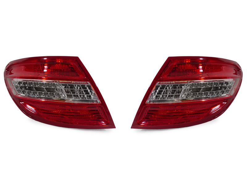 Mercedes C Class 2011-2015 Estate Clear LED Rear Tail Light N//S Passenger Left