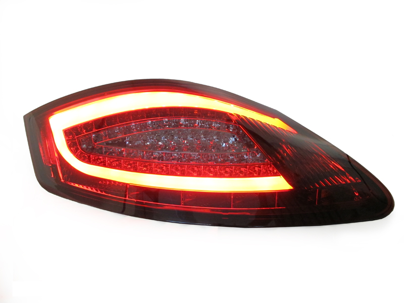 981 Style Red Smoke Light Bar Led Tail Lamp For 05 08 Porsche Boxster Cayman 987 Ebay