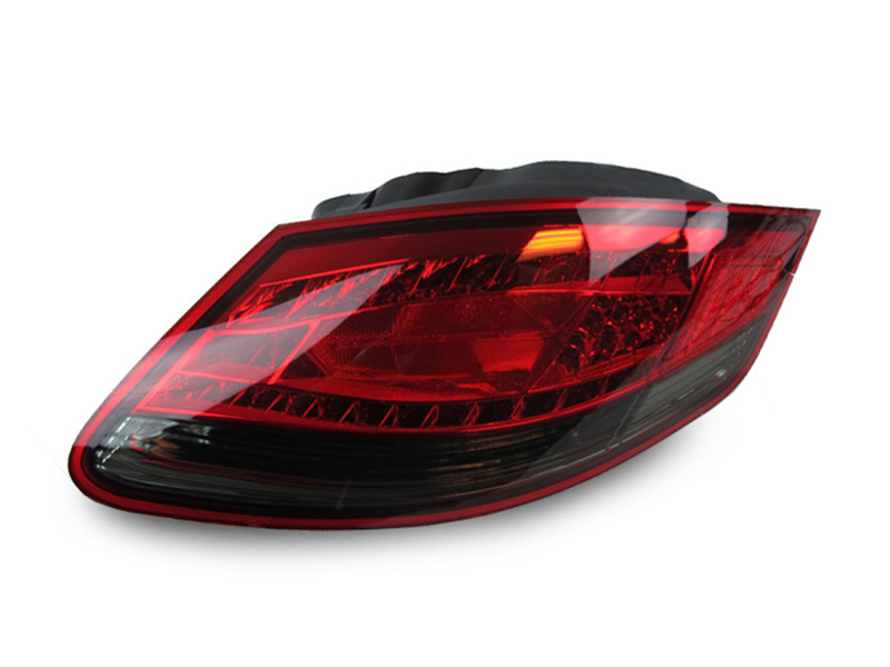 Depo Red Smoke Rear Led Tail Lights For 2005 2008 Porsche